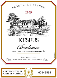 Wine Label | KESEUS